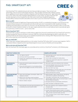 SmartCast® API FAQ