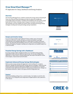 SmartCast Manager™ Sales Sheet