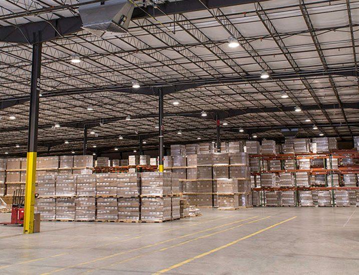 Video, warehouse lighting canada