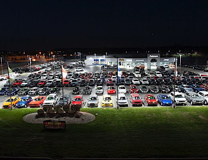 auto dealership cree canada commercial industrial led lighting