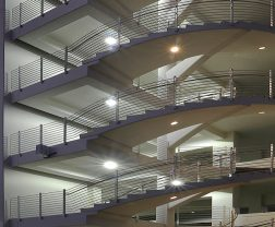 Parking Structure Exterior Application