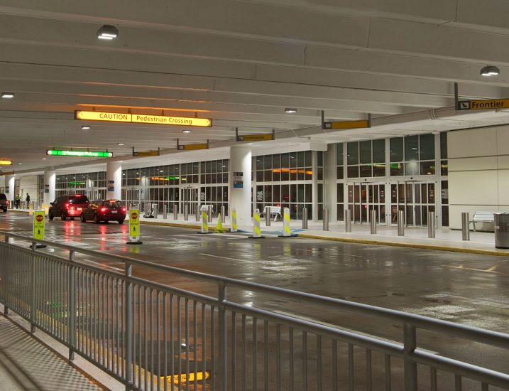 Airport Entrance Canopy Application