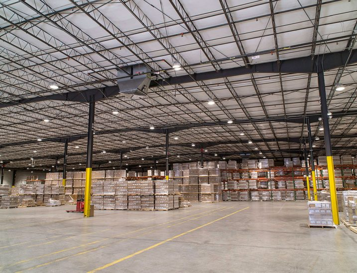 High-Bay Industrial Warehouse Application