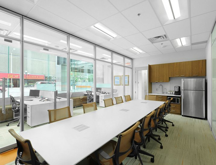 Office Lunchroom CR Troffers Application