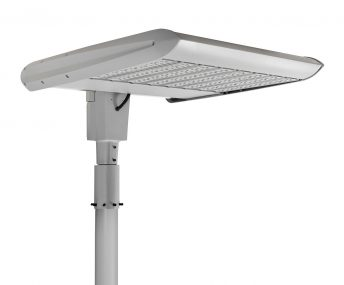 Cree Edge Series High Output Area High-Mast in Silver