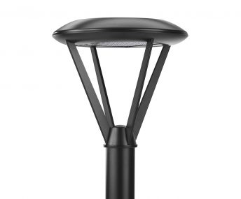 Cree Edge Series Area Round in Black