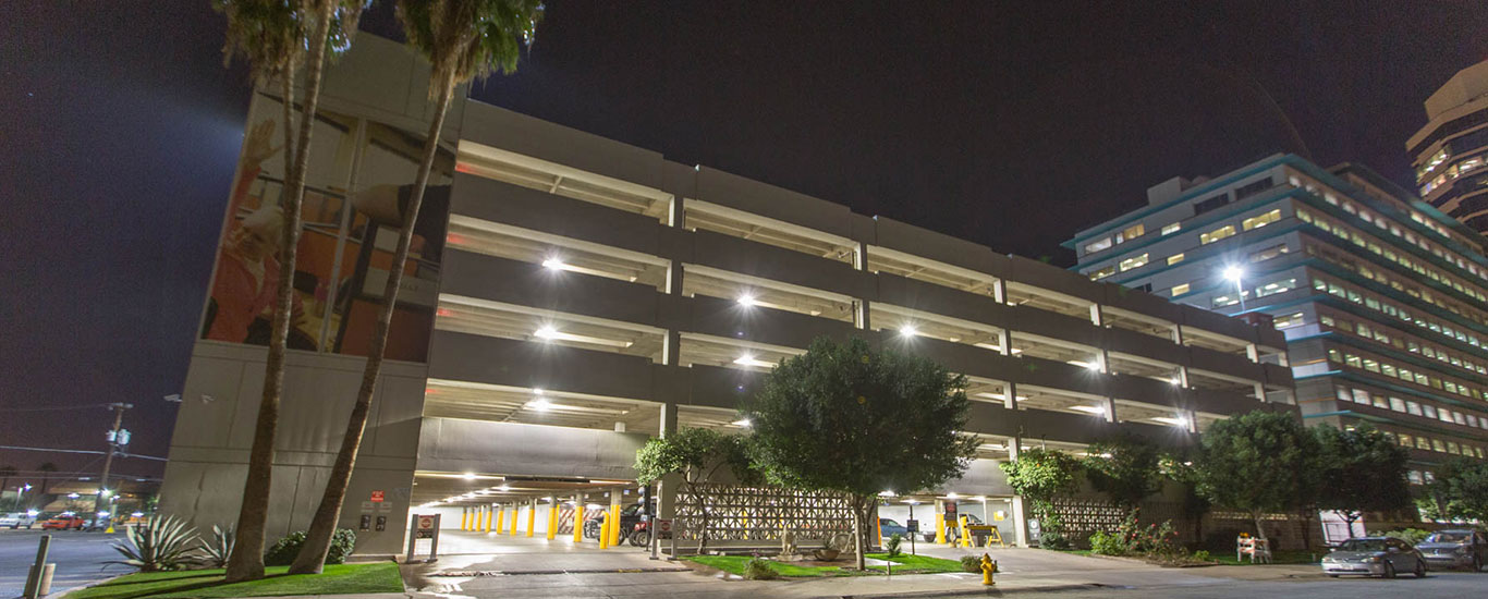 U-Haul Parking Garage VG Series Application Exterior