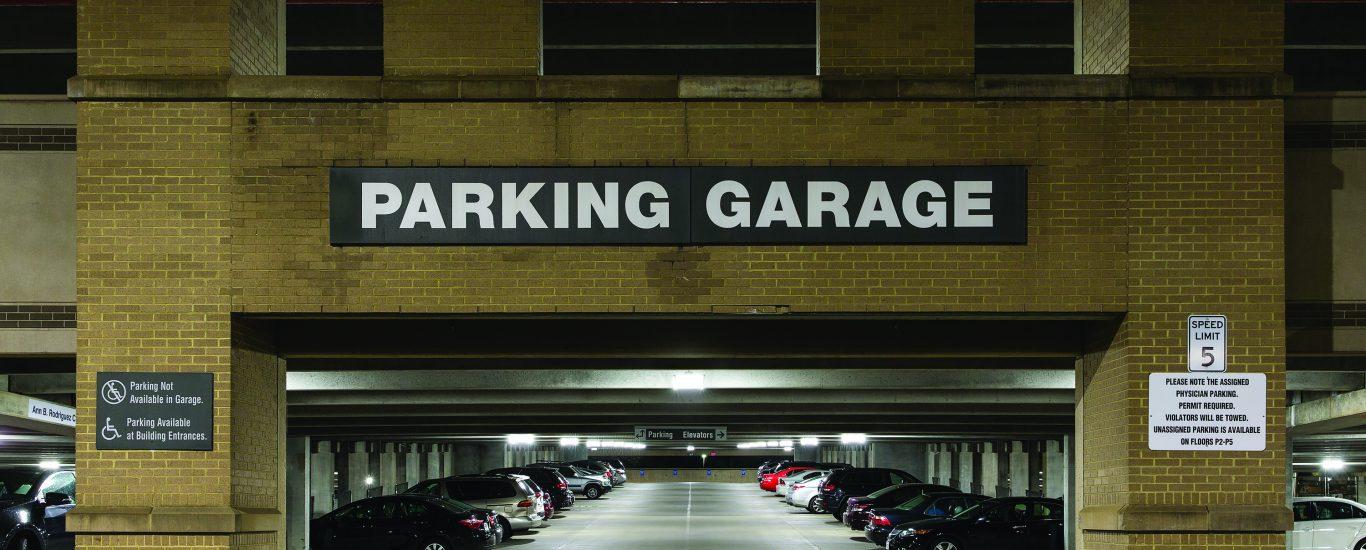 IG Parking Garage Application Exterior
