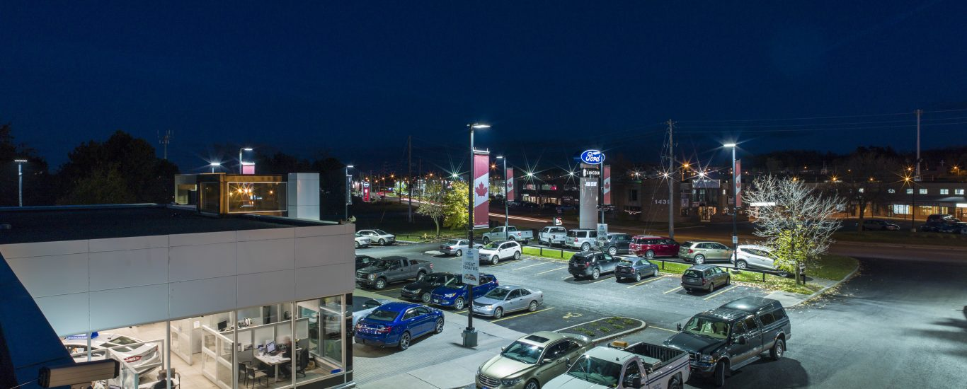 Jim Keay Ford Exterior Parking Lot in Ottawa, ON