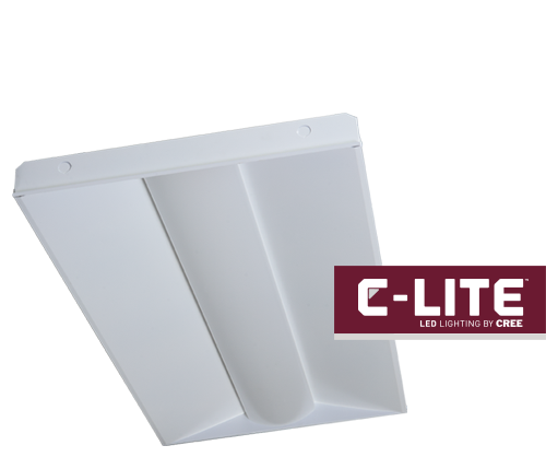 New C-Lite™ LED Basket Troffers