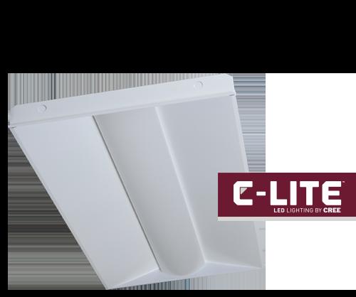 New C-Lite™ LED Basket Troffers