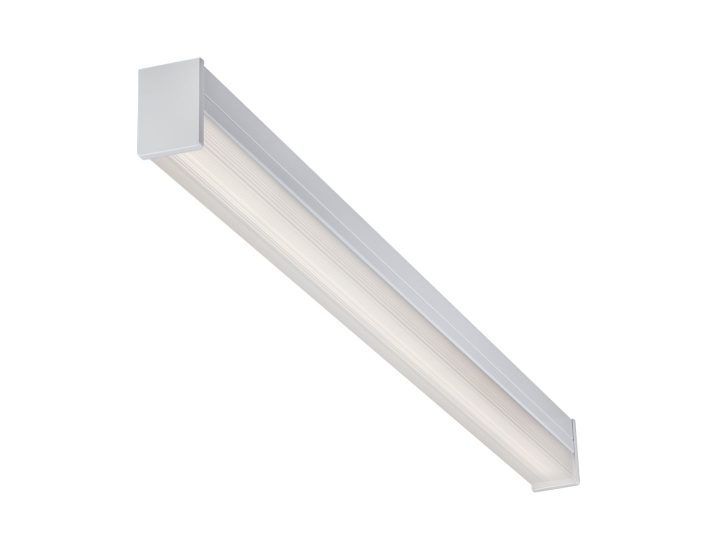 LSQ Square Series Surface Ambient 4FT Aisle Lighter (Light On)
